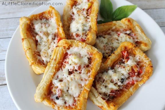 Italian Pepperoni & Vegetable Tarts at ALittleClaireification #recipe