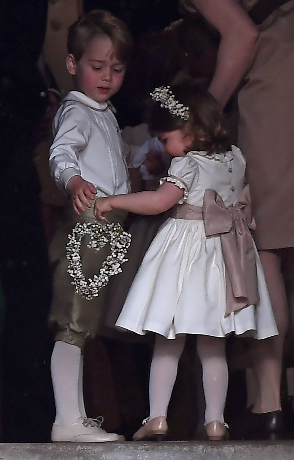 George foi pajem no casamento (Foto: Kirsty Wigglesworth/Reuters)