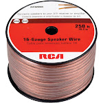 RCA AH16250SR 16-Gauge Speaker Wire, 250'