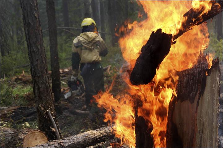 Wildfires in Yakutia