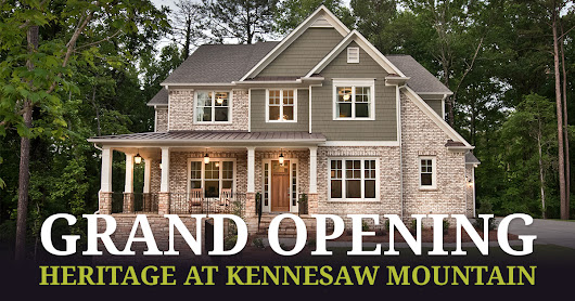 Save BIG at Heritage at Kennesaw Mountain's Grand Opening - Kerley Family Homes