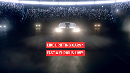 Fast & Furious Now Has a Live Show - Autoblog