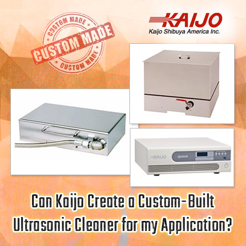 Can Kaijo Create a Custom-Built Ultrasonic Cleaner for My Application? - Kaijo