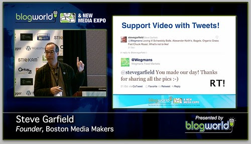 Support Video With Tweets! #BWELA by stevegarfield