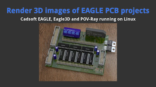 How to install and configure EAGLE and POV-Ray on Linux Ubuntu ...