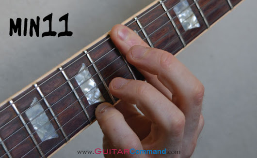 Big Minor 11th - Guitar Chord Of The Week