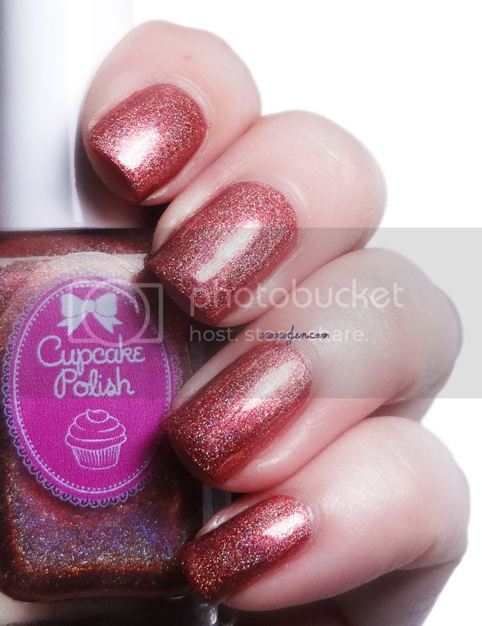 xoxoJen's swatch of Cupcake Polish Rusting Over A Boy
