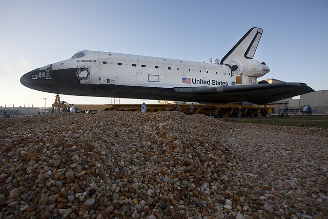 STS 134 Rollover