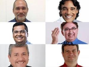 Candidatos ao governo do estado do Maranhão (Foto: G1)