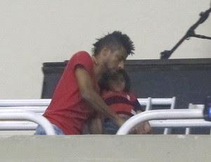 Leo Moura Flamengo (Foto: Richard Souza / Globoesporte.com)