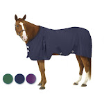 EQ EZ-Care Stable Sheet 75 Navy