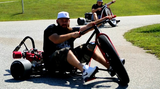 These Guys Built A Custom Motorized Tricycle That Will Definitely Leave You Wanting To Take A Spin!