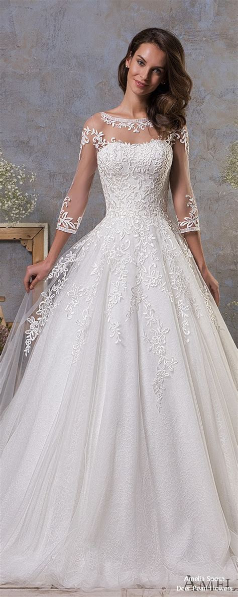 Amelia Sposa Wedding Dresses 2019 ? In Love with Lace