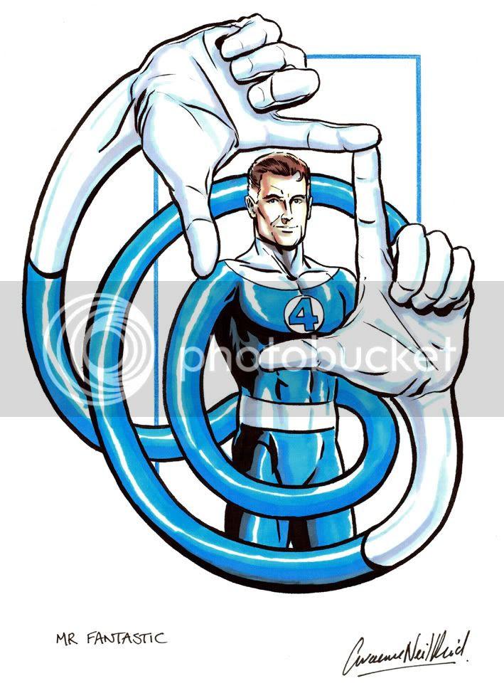 Graeme Neil Reid,Illustration,Fantastic Four,Marvel Comics