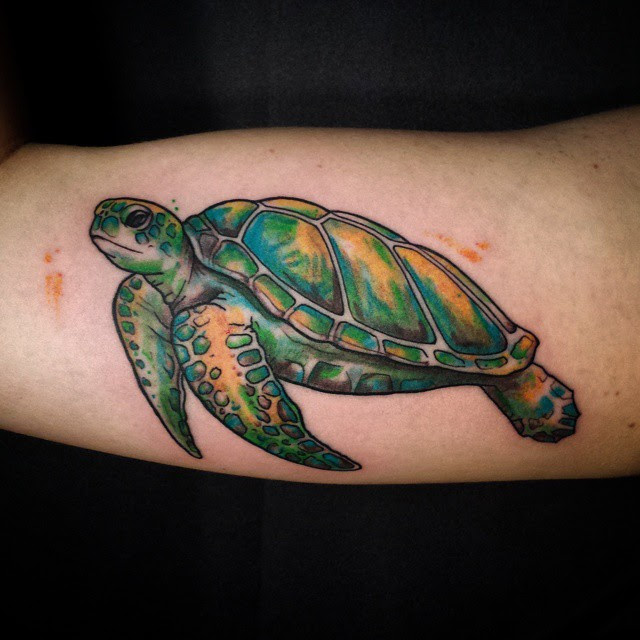 85 Best Sea Turtle Tattoo Designs Meanings 2019