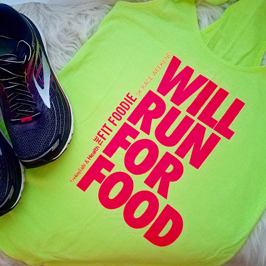 Friday Five: Reasons to Run the Fit Foodie 5K