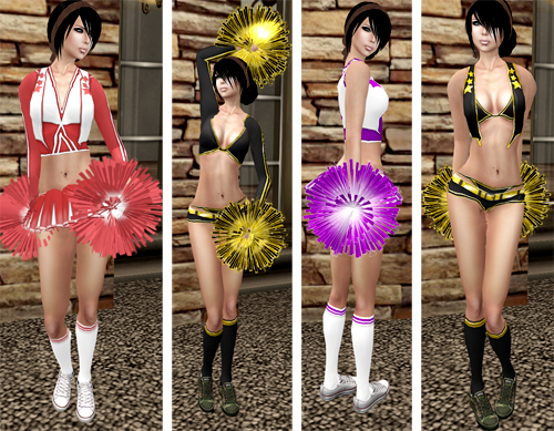 NEW! Reasonable Desires Cheer Outfits=)