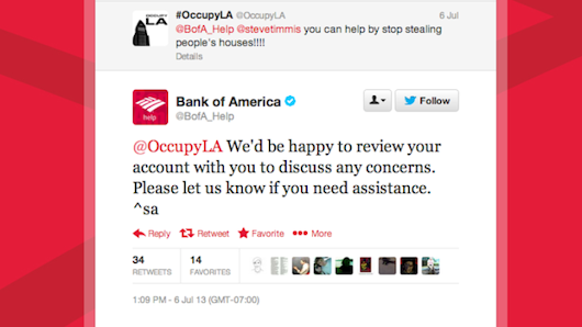 Bank of America's Twitter Account Is One Really Really Dumb Robot