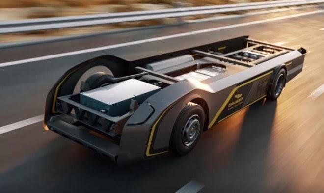 Водородная платформа для грузовиков Gaussin «обещает» запас хода 800 км