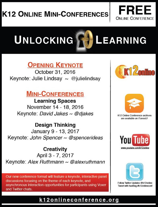 K12 Online Conference – 2016 – Unlocking Learning