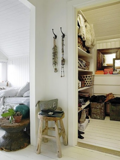 bedroom + closet