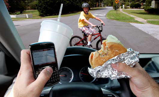 Why distracted driving is driving me to distraction