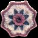 A Blanket of Roses Afghan