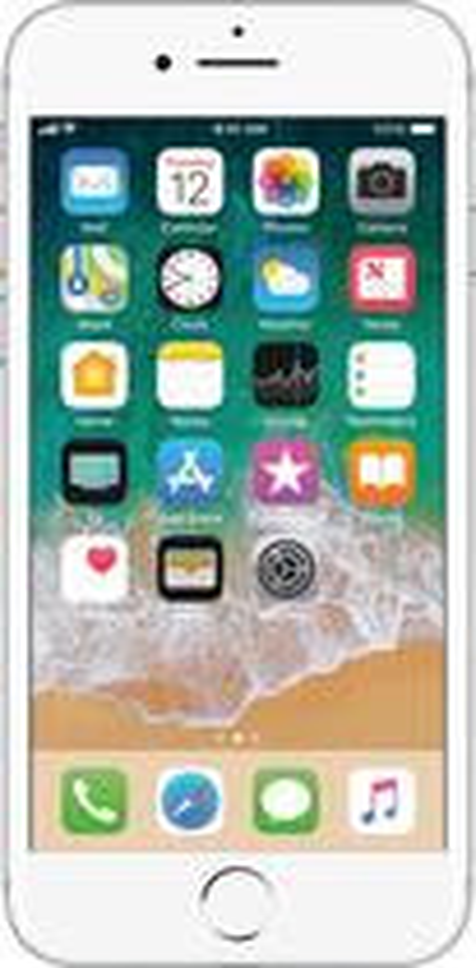Apple - Iphone 7 256gb - Silver (verizon)