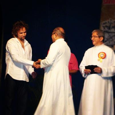 Oliver Sean Felicitated by Loutolim & School