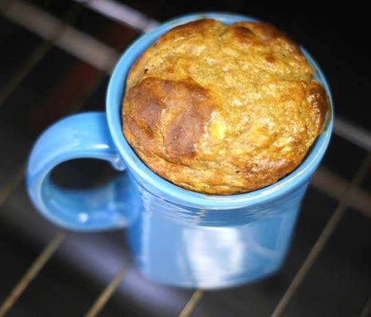 Peanut Butter Banana Mug Cake   Detoxinista