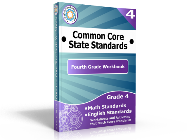 fourth grade common core standards workbook Free Giveaway   Fourth Grade Common Core Workbook Download