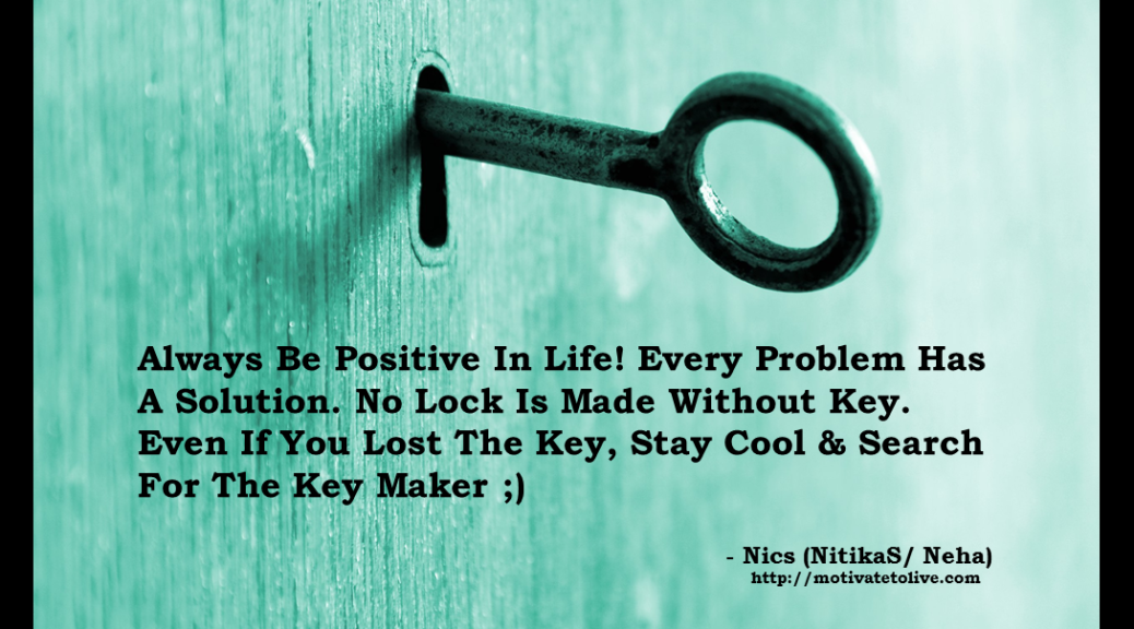 Lock With Key Quote Motivate To Live Blog1 Dividend Cake