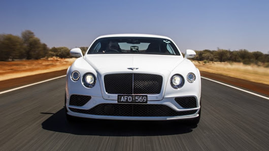 Watch a Bentley Continental GT Speed hit 206 mph in Australia
