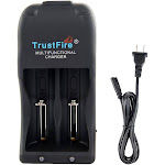 trustfire multi-functional charger rechargeable battery charger dual slot