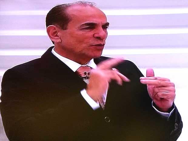 Deputado Marcelo Castro (PMDB-PI) concede entrevista ao programa Roda Viva (Foto: Reprodução /  TV Cultura)