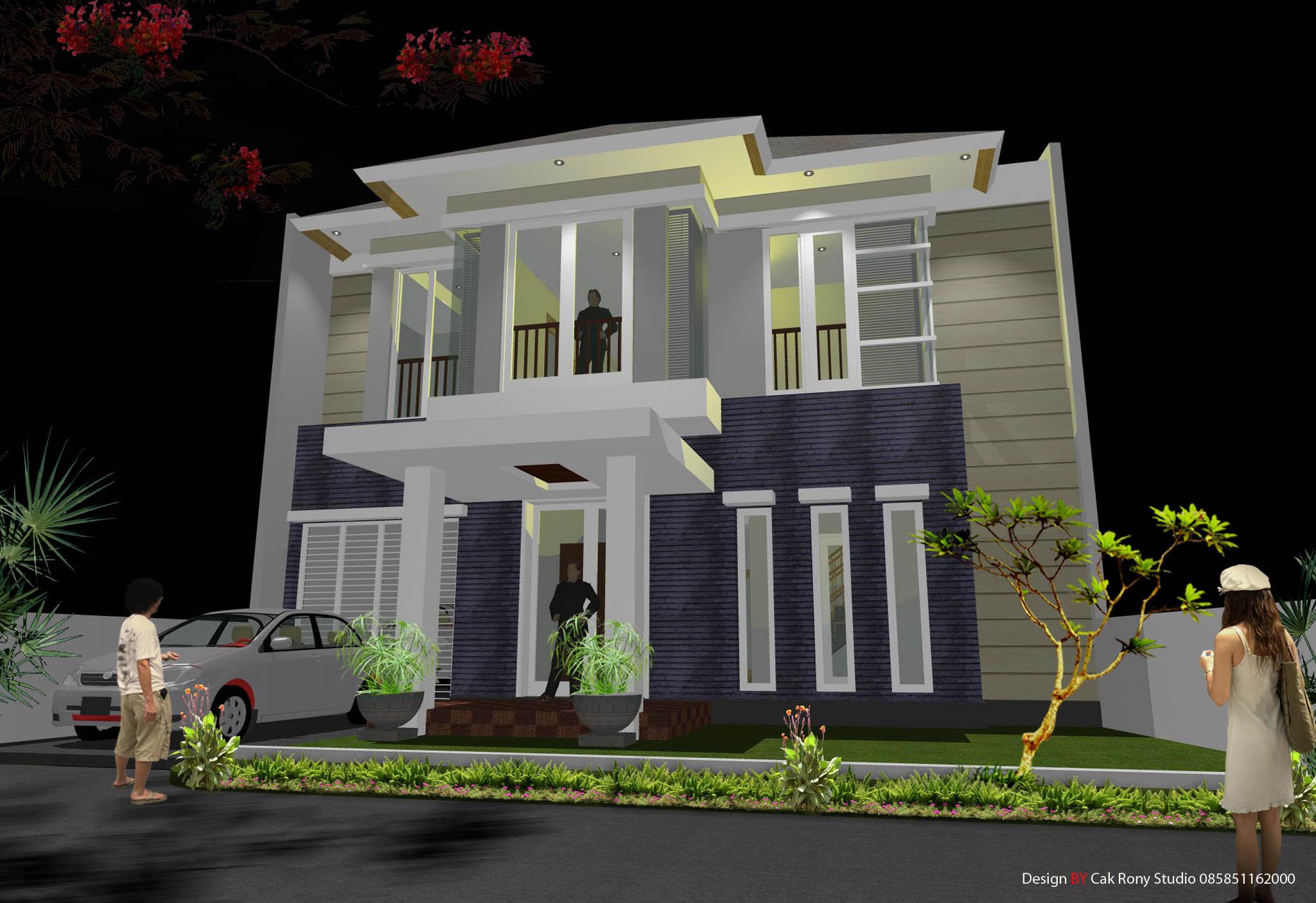 Desain Rumah Minimalis 9 X 14