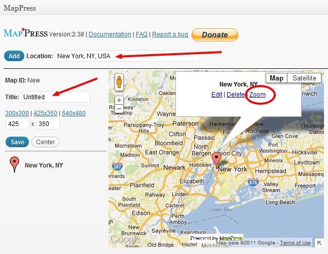 Mappress The Most Popular Google Maps Plugin For Wordpress
