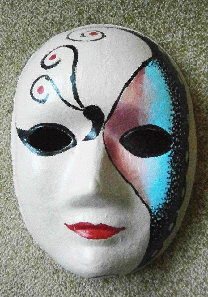 Maske Boyama Cesitleri Ust Ev Boyama Sayfasi