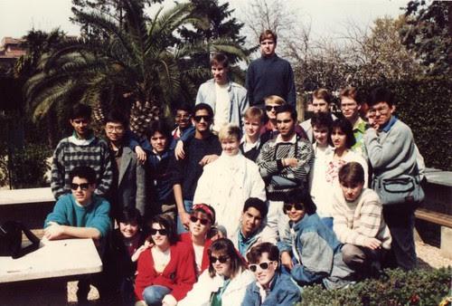 Italy high-school art tour 1986