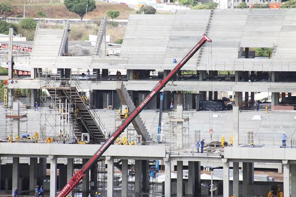O avanço na construção da Arena das Dunas aumenta o sonho dos americanos de vê a equipe jogar em um estádio de Copa do Mundo