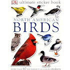 North American Birds: DK Ultimate Sticker Book, More Than 60 Reusable Full-color Stickers [Book]