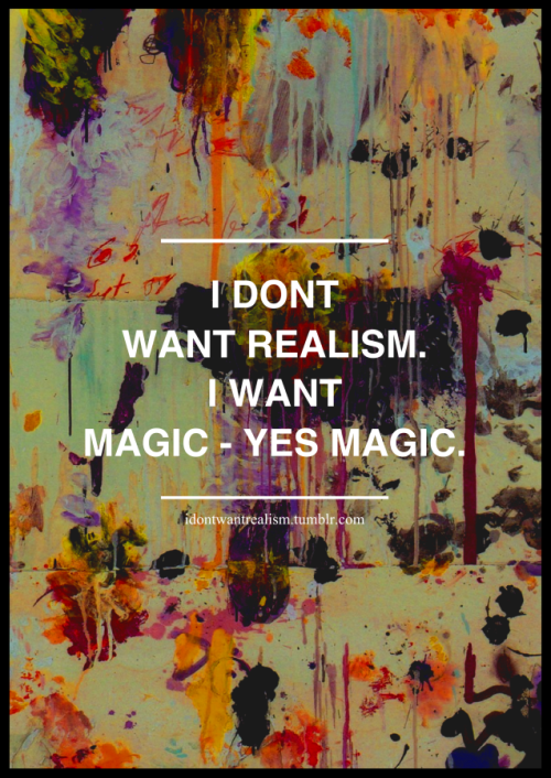 idontwantrealism:  Poster for my tumblr :)