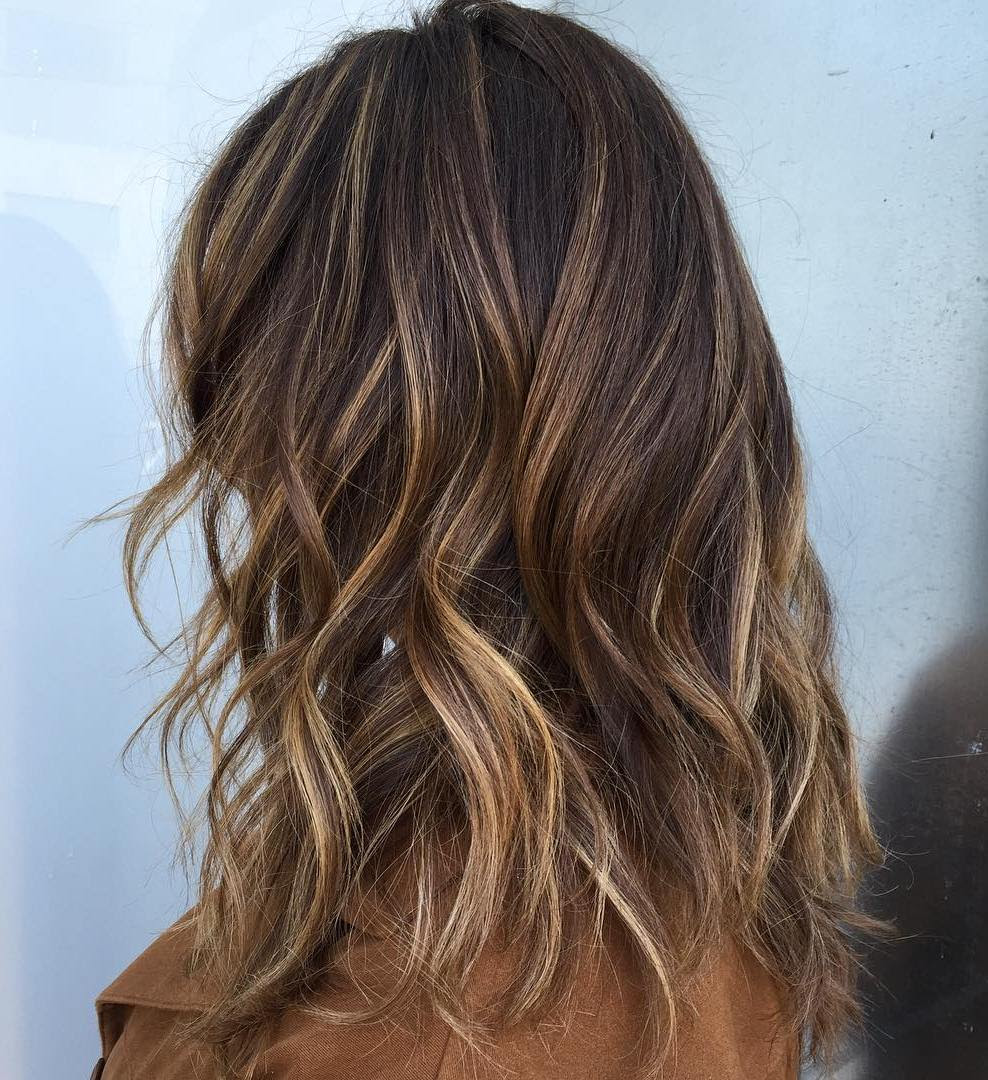 70 Balayage Hair Color Ideas with Blonde, Brown, Caramel and Red Highlights