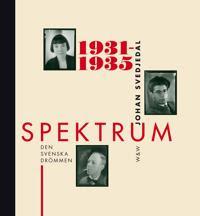 Spektrum : den svenska drömmen - tidskrift och förlag i 1930-talets kultur