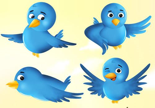 Free Twitter Bird Icon Set
