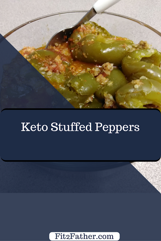 Keto Stuffed Peppers - Fit2Father