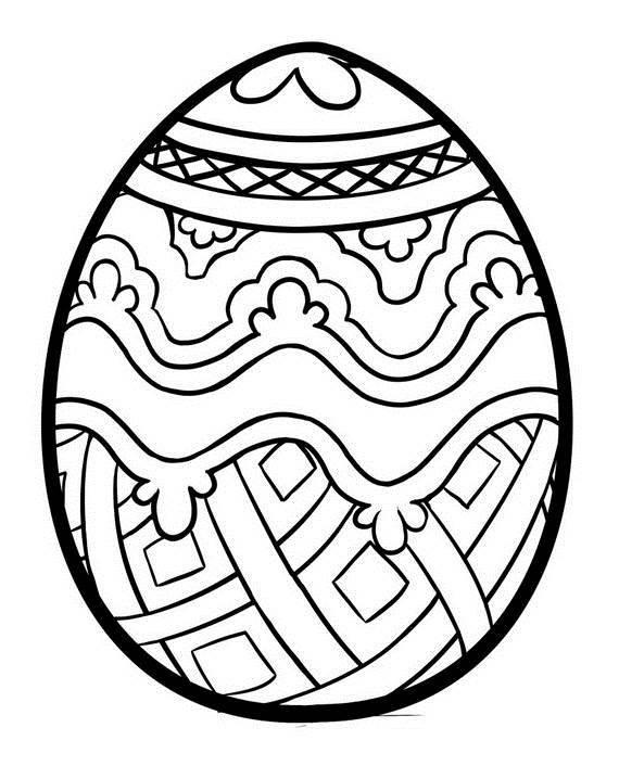 52 Coloring Pages For Adults Easter Pictures