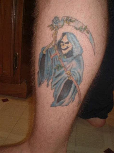 grim reaper tattoo designs pictures images