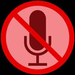 Mute the mic
