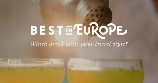 Which drink suits your travel style?